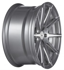 Barracuda PROJECT 2.0 silver brushed 9.5×19 ET: 47 – 5×112