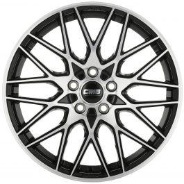 CMS C25 Diamond Black 7×17 ET: 45 – 4×100