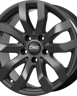 CMS C22 Complete Black Gloss 7×16 ET: 31 – 5×120