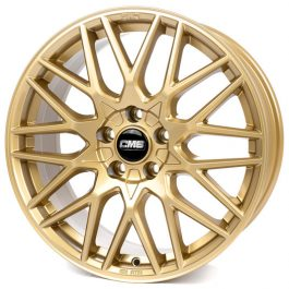CMS C25 Complete GOLD Gloss 7×17 ET: 49 – 5×112