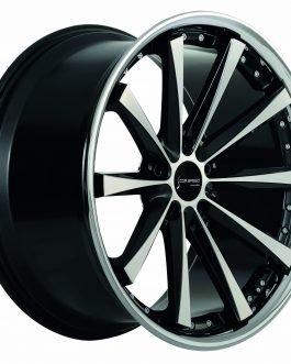 Corspeed ARROWS Higloss black polished inox lip 9.5×19 ET: 33 – 5×120