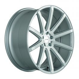 Corspeed DEVILLE Silver-brushed-Surface 10.5×22 ET: 15 – 5×112