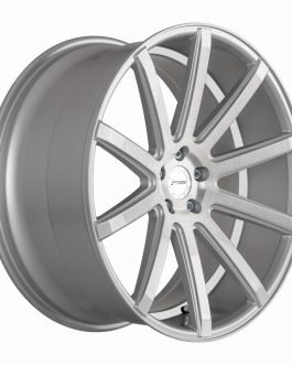 Corspeed DEVILLE Silver-brushed-Surface/ undercut Color Trim weiß 8.5×19 ET: 35 – 5×112