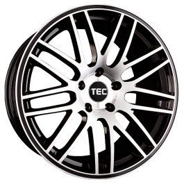 TEC Speedwheels GT1 Black machined face CB: 72.5 9.5×19 ET: 36 – 5×120