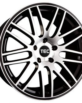 TEC Speedwheels GT1 Black machined face CB: 72.5 8.5×18 ET: 35 – 5×112