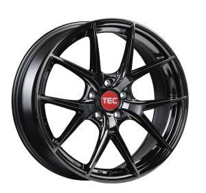 TEC Speedwheels GT6 Black glossy CB: 72.5 8.5x20 ET: 45 - 5x112