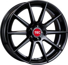 TEC Speedwheels GT7 Black glossy CB: 63.4 9×21 ET: 38 – 5×108