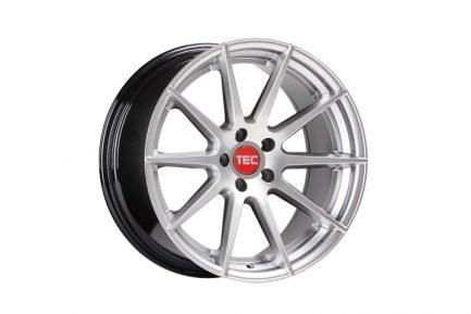 TEC Speedwheels GT7 Hyper Silver CB: 72.5 8.5x20 ET: 45 - 5x108