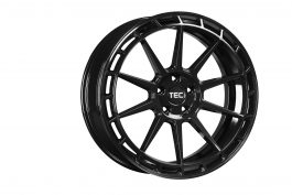 TEC Speedwheels GT8 Black glossy CB: 72.5 8×18 ET: 35 – 5×112