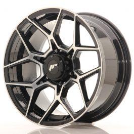 JR Wheels JRX9 18×9 ET18 6×114.3 Gloss Black Machined Face