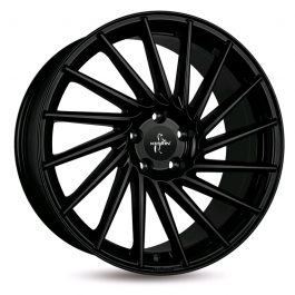 Keskin-Tuning KT17 Matt Black Painted 9.5×21 ET: 38 – 5×120