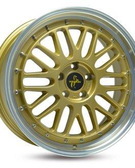 Keskin-Tuning KT22 Gold Lip Polish 8.5×19 ET: 35 – 5×120