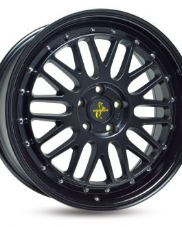 Keskin-Tuning KT22 Matt Black Painted 8.5×19 ET: 45 – 5×108
