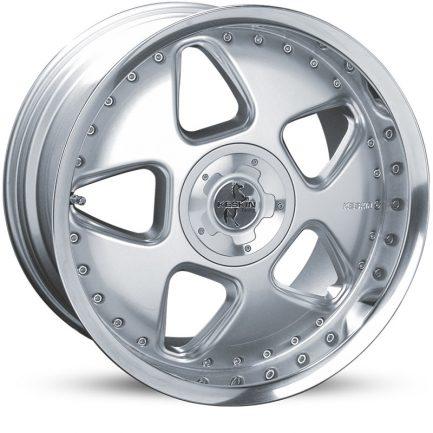 Keskin-Tuning KT5 Silver Lip Polish 9.5x18 ET: 25 - 4x100