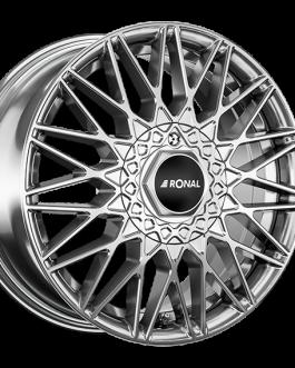 Ronal LSX SILVER FACE-CUT 7.0×16 ET: 35 – 5×120