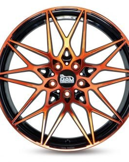 MAM B2 Black Front Orange 8.5×20 ET: 35 – 5×120