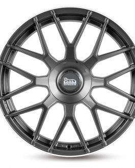 MAM GT1 Palladium Lip Polish 8.5×19 ET: 45 – 5×100