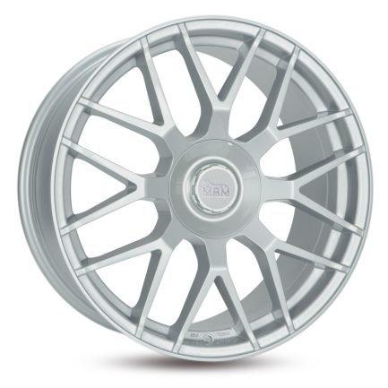 MAM GT1 Silver Painted 8.5x19 ET: 45 - 5x100