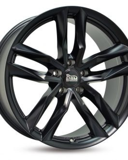 MAM RS3 Matt Black Painted 8.5×19 ET: 45 – 5×112