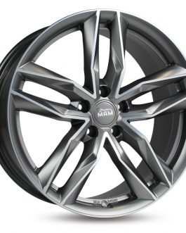 MAM RS3 Matt Palladium Front Polish 8×18 ET: 30 – 5×112