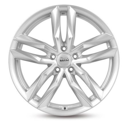 MAM RS3 Silver Painted 8.5x19 ET: 45 - 5x112