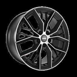 MOMO MASSIMO Black matt polish 9×18 ET: 42 – 5×112