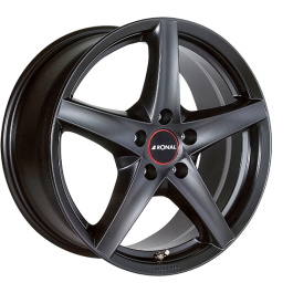 Ronal R41 MATT BLACK 8.0×17 ET: 35 – 5×114.3