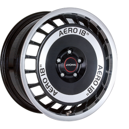 Ronal R50 AERO BLACK FACE-CUT 7.5×16 ET: 38 – 4×100