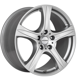 Ronal R55 SUV CRYSTALSILVER 9.5×20 ET: 55 – 5×112