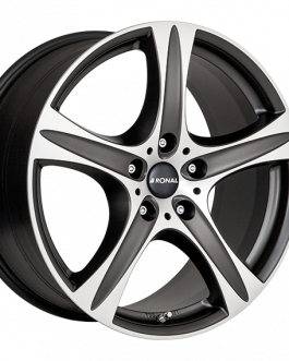 Ronal R55 SUV MATT BLACK FACE-CUT 8.5×18 ET: 45 – 5×108