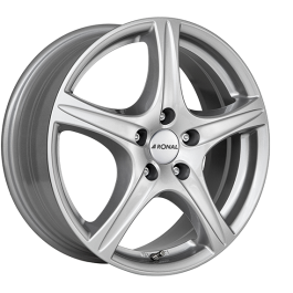 Ronal R56 CRYSTALSILVER 8.0×18 ET: 45 – 5×114.3