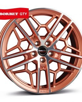Borbet GTY copper polished glossy 8.5×19 ET: 45 – 5×108