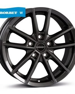 Borbet W mistral anthracite glossy 6.5×16 ET: 50 – 5×114.3
