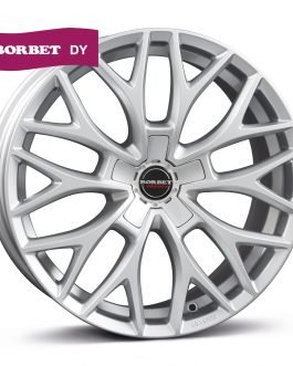 Borbet DY brilliant silver 8×18 ET: 38 – 5×115