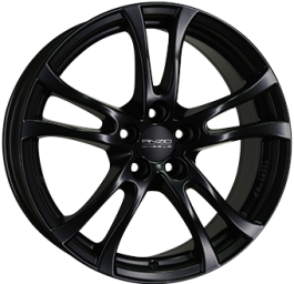 ANZIO TURN Dull Black 7.5×17 ET: 35 – 5×112