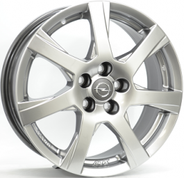 ATS TWISTER Silver Bright 7.5×17 ET: 45 – 5×110