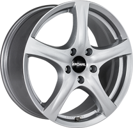 Ronal R42 Crystal Silver 6.5×16 ET: 37 – 5×98
