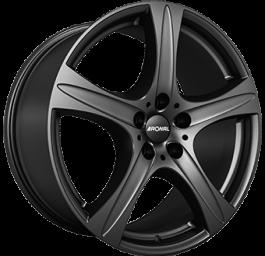 Ronal R55 SUV Dull Black 9.5×20 ET: 55 – 5×130