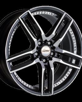 Speedline Corse SL1 Imperatore BLACK FACE-CUT 9.5×19 ET: 40 – 5×112