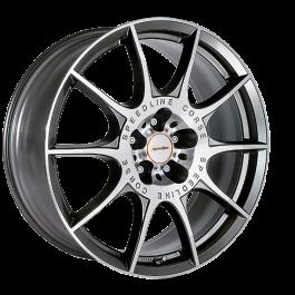 Speedline Corse SL2 Marmora ANTRACITE FACE-CUT 8.5×20 ET: 50 – 5×130