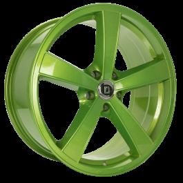 Diewe Trina Sparkling Lime 8×17 ET: 43 – 5×120