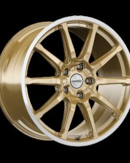 Speedline Corse SC1 RACING GOLD RIM-CUT 10.5×20 ET: 45 – 5×130