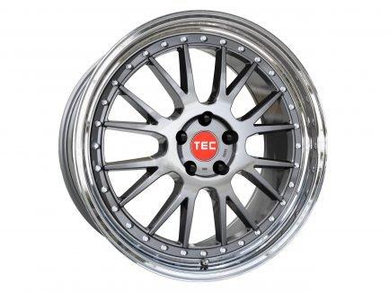 TEC Speedwheels GTE Titan polished lip CB: 72.5 8.5x19 ET: 45 - 5x108