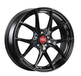 TEC Speedwheels GT6 Black glossy CB: 65.1 8.5×20 ET: 31 – 5×110