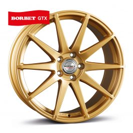 Borbet GTX gold matt 8.5×19 ET: 45 – 5×112