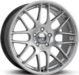 Fox Wheels RIVA DTM Silver 8.0×18 ET: 34 – 5×120