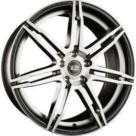 TEC Speedwheels GT2 Black polished CB: 72.6 8.5×20 ET: 35 – 5×120