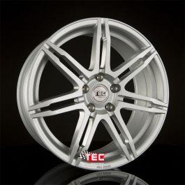 TEC Speedwheels GT2 Cristal silver CB: 72.5 7.5×17 ET: 38 – 5×114.3