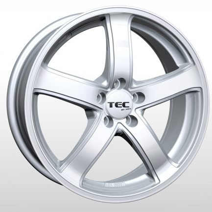 TEC Speedwheels AS1 Cristal silver CB: 72.5 6.5x15 ET: 45 - 5x114.3