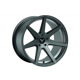 Barracuda VIRUS Gunmetal/ undercut Color Trim weiß 9.0×20 ET: 12 – 5×120